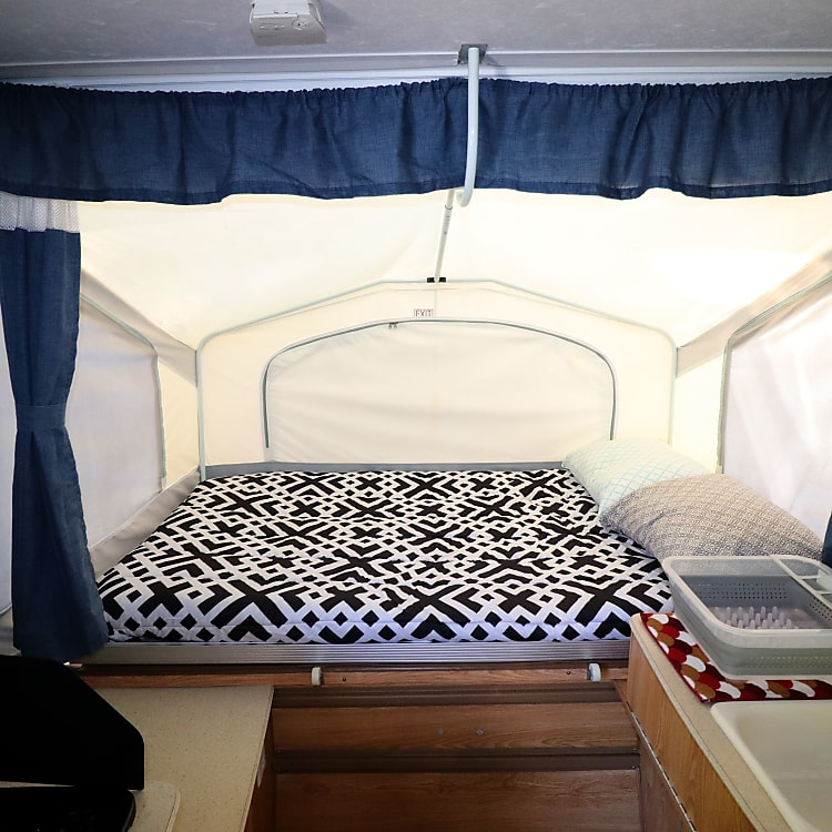 Large sleeping areas!