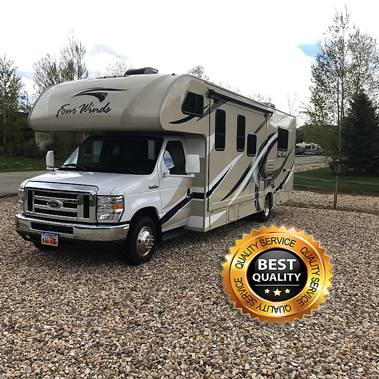 Drives without a problem. First time Motorhome drivers won't have a problem!