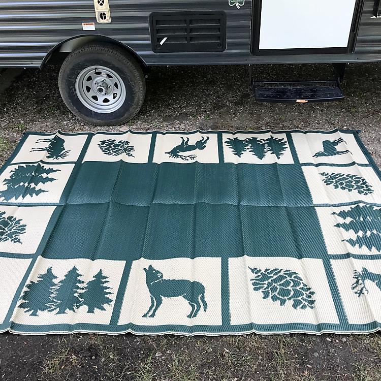 Exteriornmap keep the camper clean