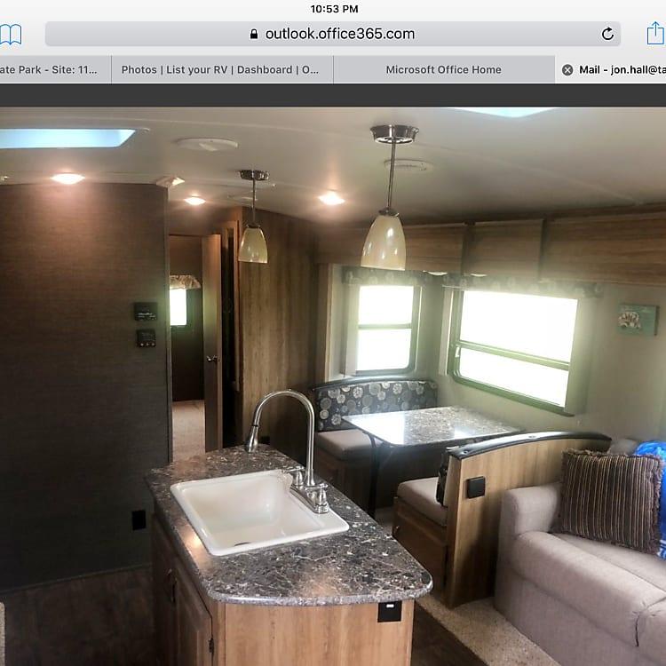 Living area / Kitchen area