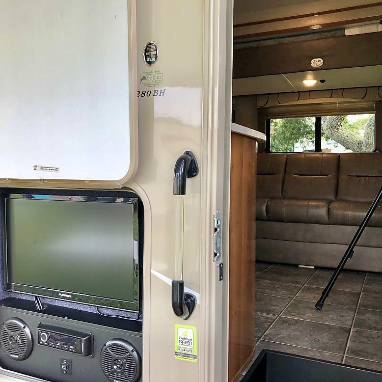 3 tv's provided