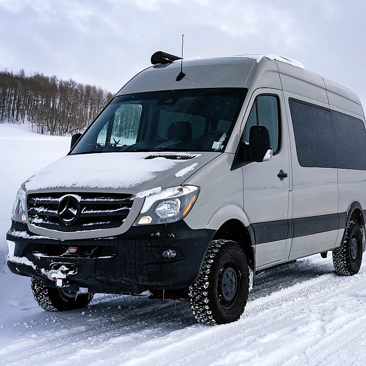The 4X4 makes this vehicle great for getting around on snowy roads