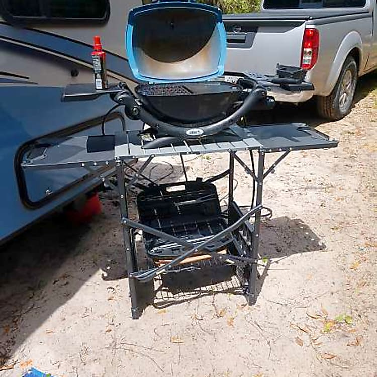 Available grill and stand