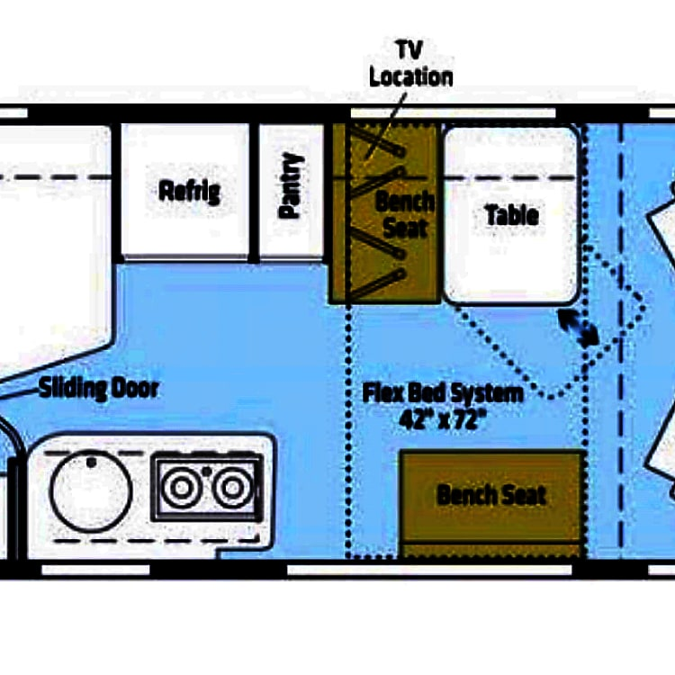Floorplan from Winnebago
