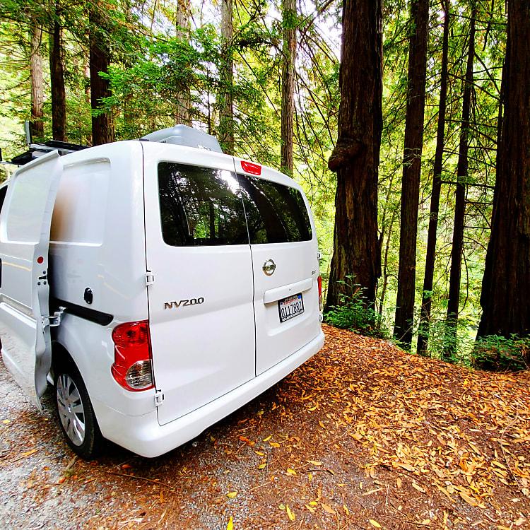 2019 Nissan NV200 Motor Home Camper Van Rental In San