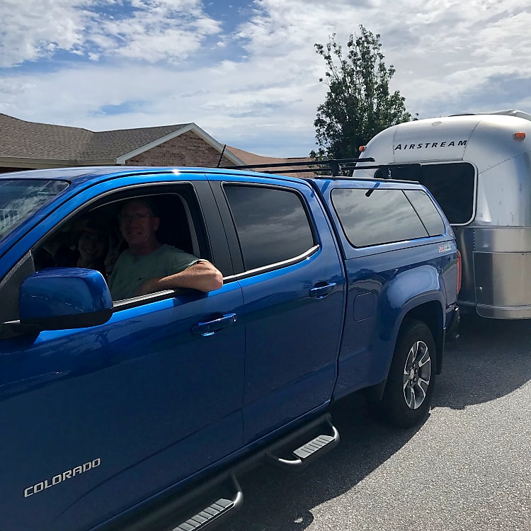 Customer photo, headed out for a road trip.