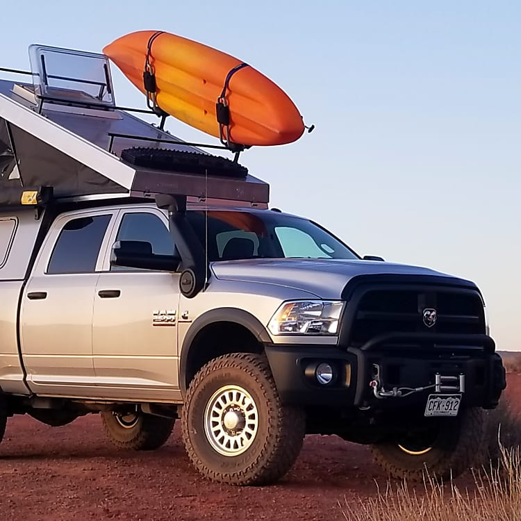 Fully equipped and rugged adventuremobile
