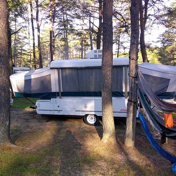 Camping in Hocking Hills, Ohio