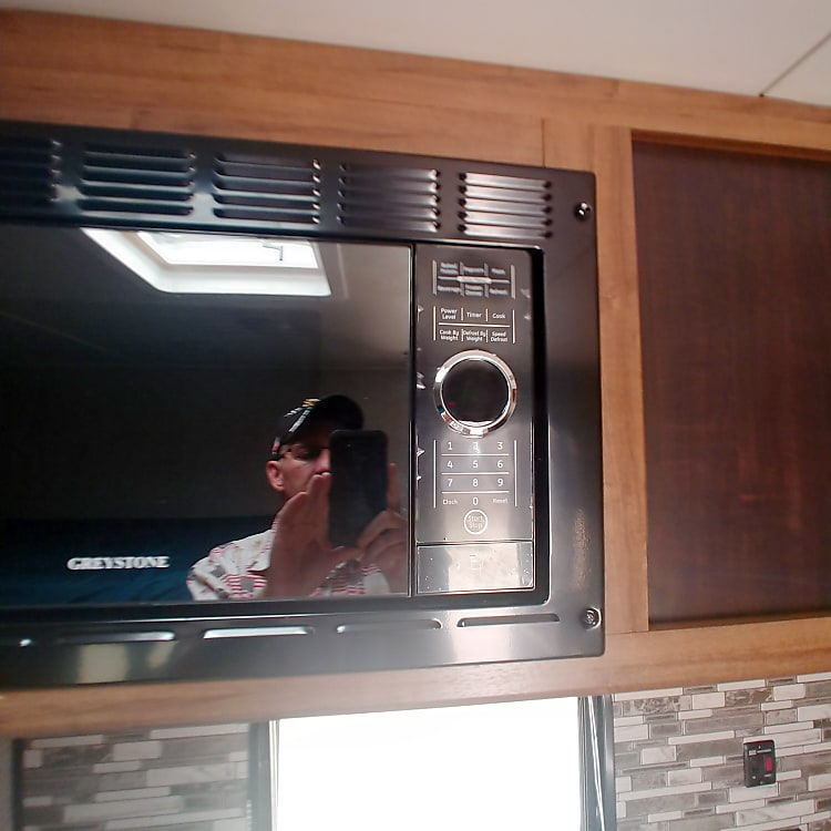 Microwave oven is helpful in a pinch