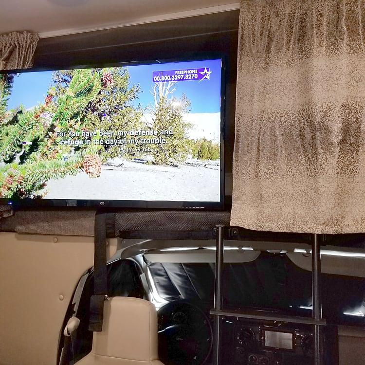In cabin TV