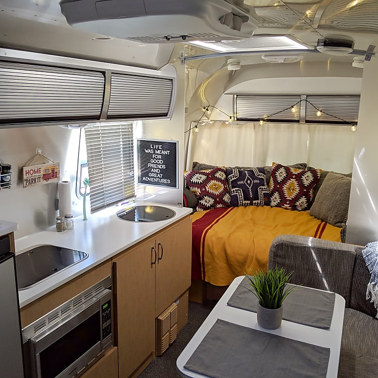 The perfect camper for a couple or small family.