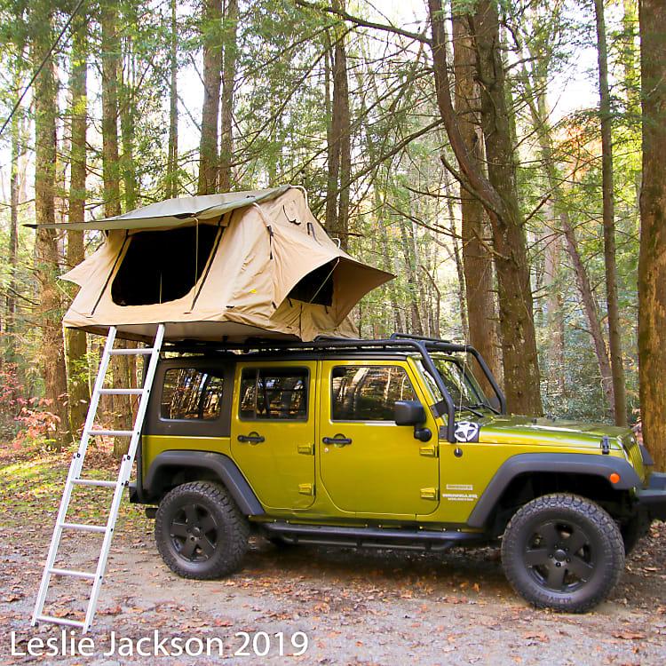Full tent setup