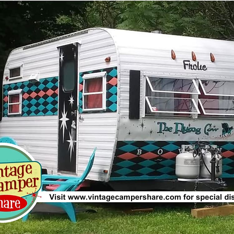 For unique discounts visit www.vintagecampershare.com. Private Insurance provided. Woodstock meets the Adirondacks and more, with a mixture of Fifties decor and more
