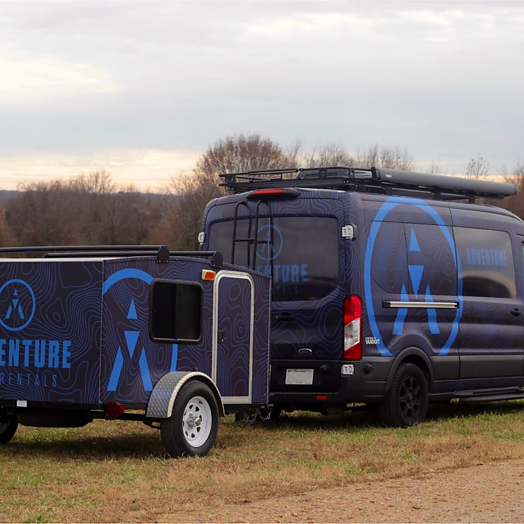 Blue can be added to any van rental for added sleeping quarters.