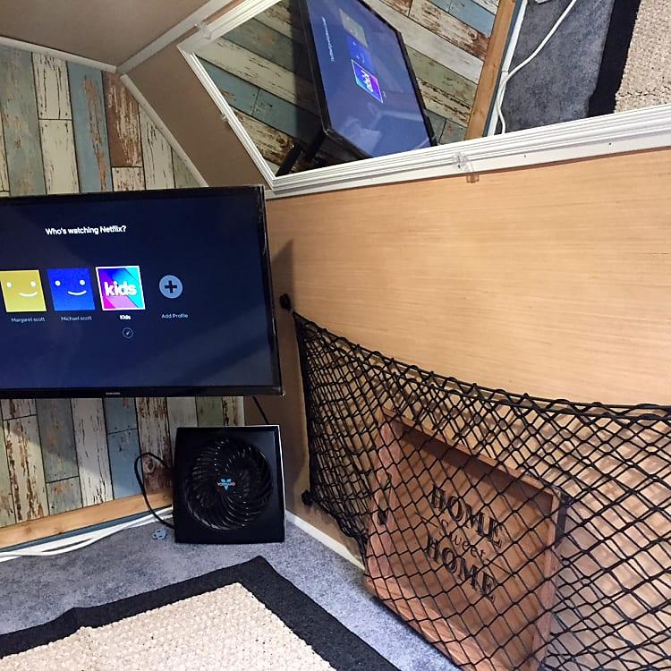 TV/Storage Area