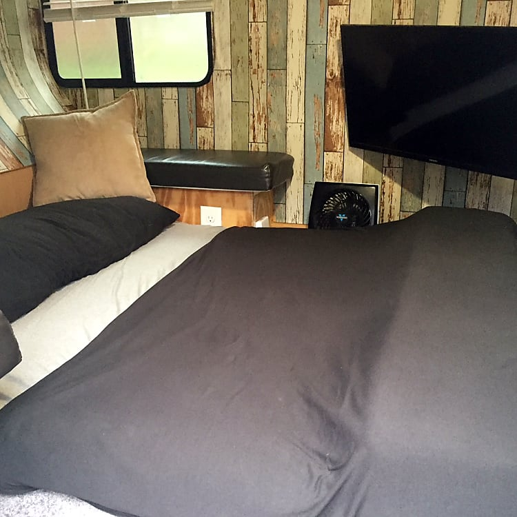 Interior Bed Down (Sleeping position)