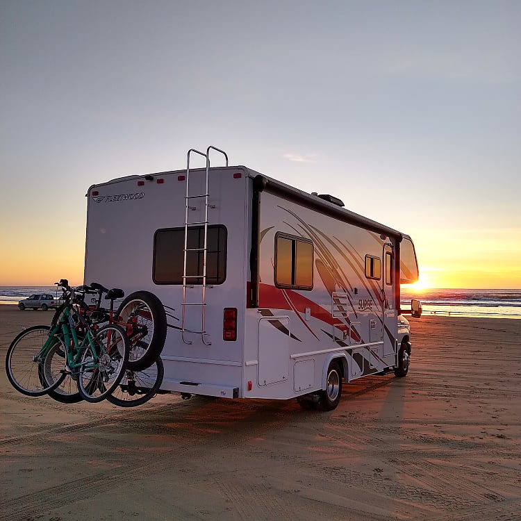 Enjoy a beautiful sunset at the beach