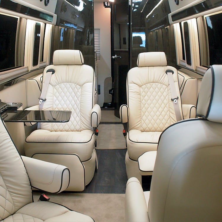 Your journey will begin with comfort, luxury and style in mind.