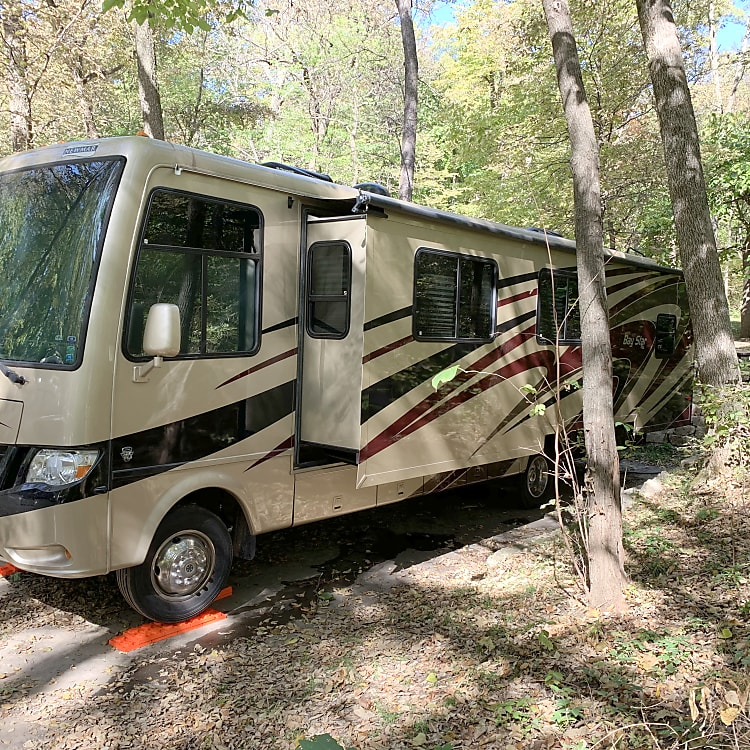 Fall 2019 at Indian Cave campground in SE Nebraska