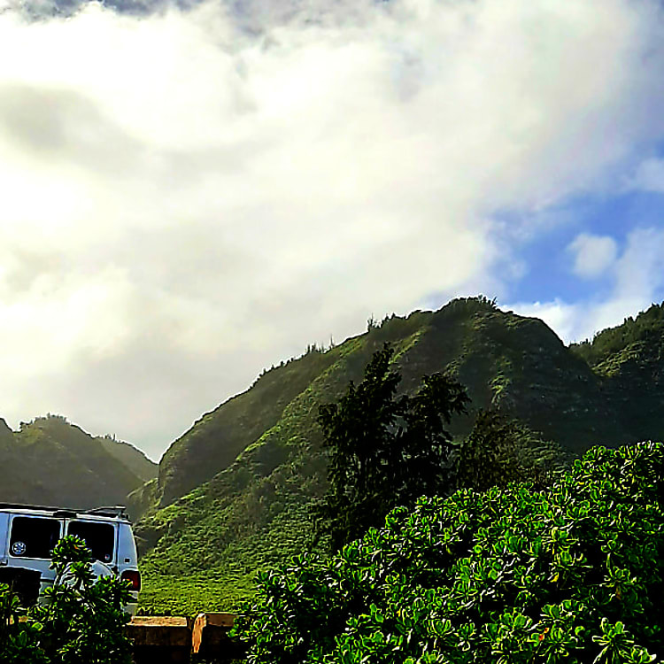 Explore the beauty Oahu, Hawaii has to offer in the Millennium Falcon