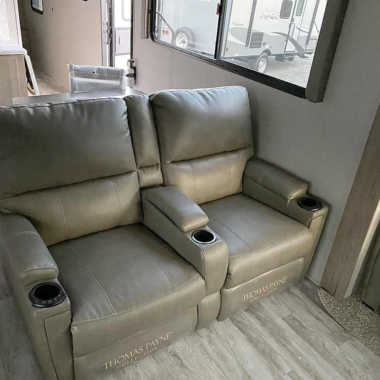 Theater Recliners with Heat and Massage!