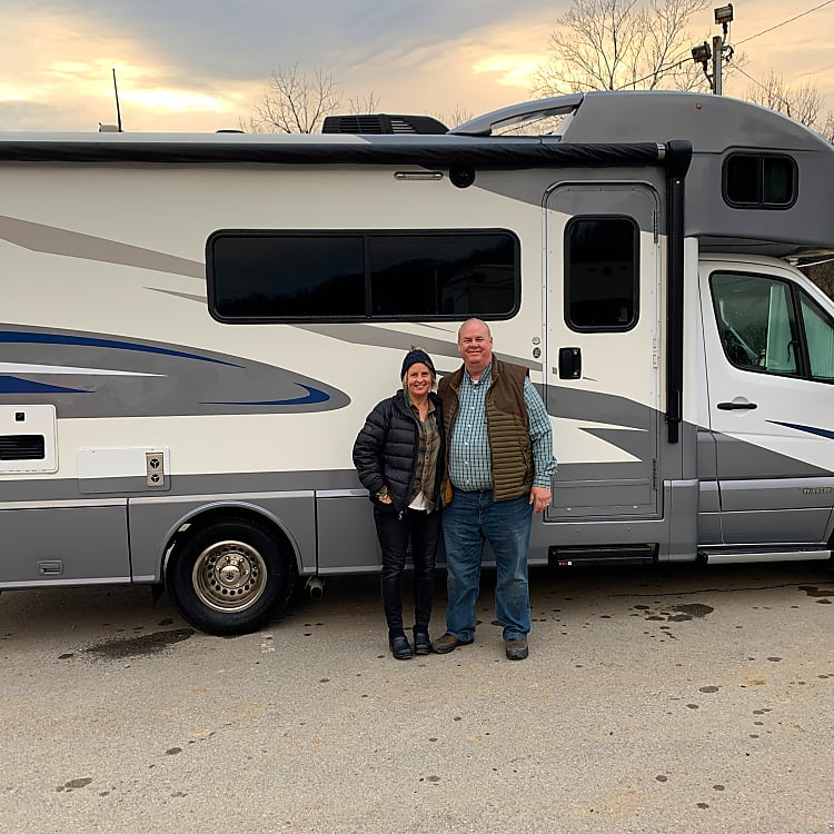 The day we purchased the RV in December 2019.