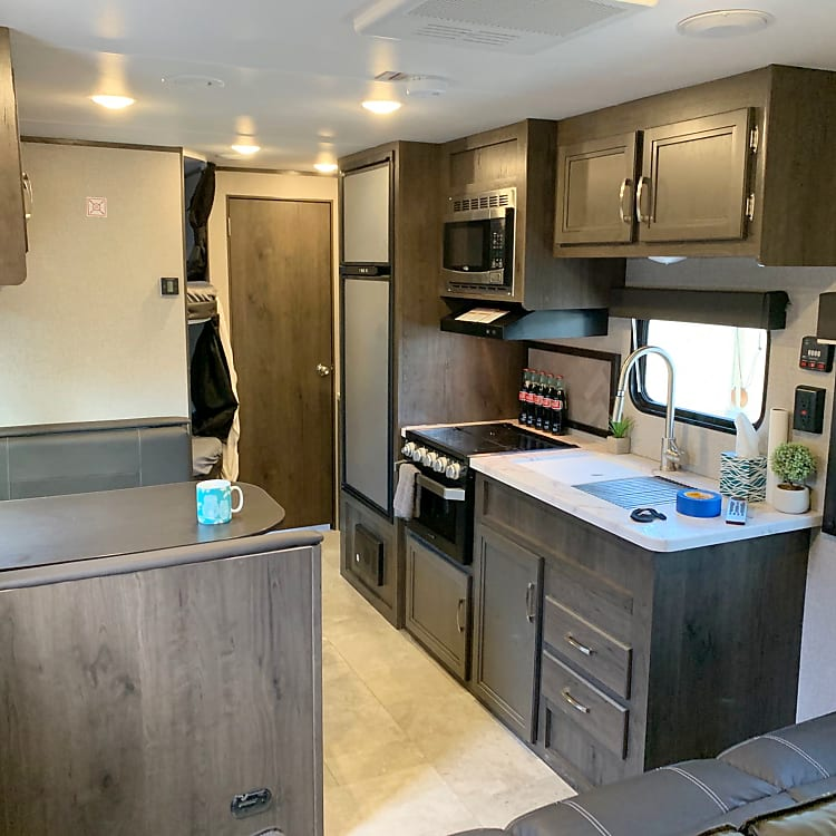 kitchen and dinette.