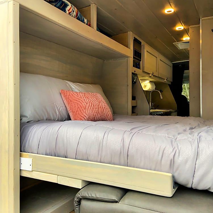 Full Sized memory foam bed