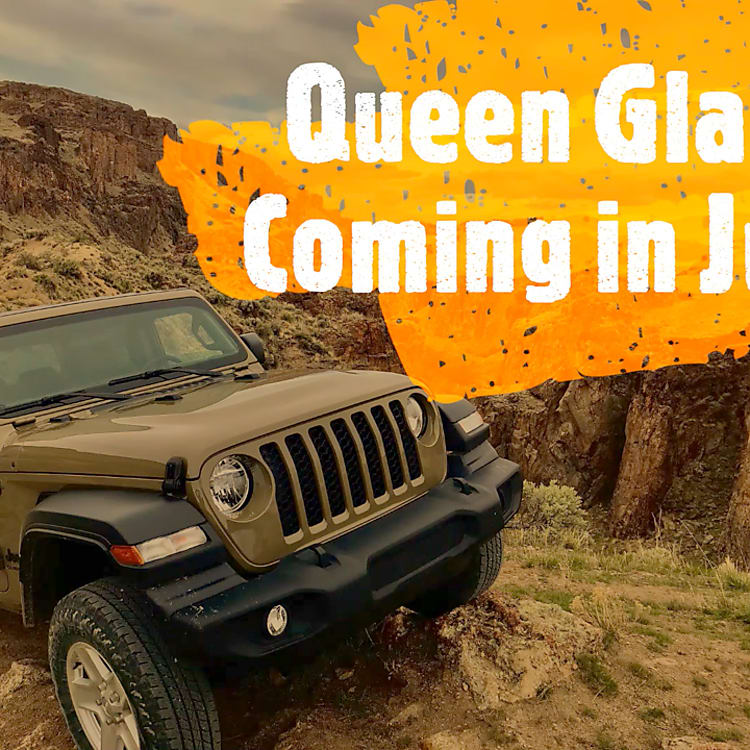 Queen Gladis is a gator green Jeep Gladiator being built for adventure.