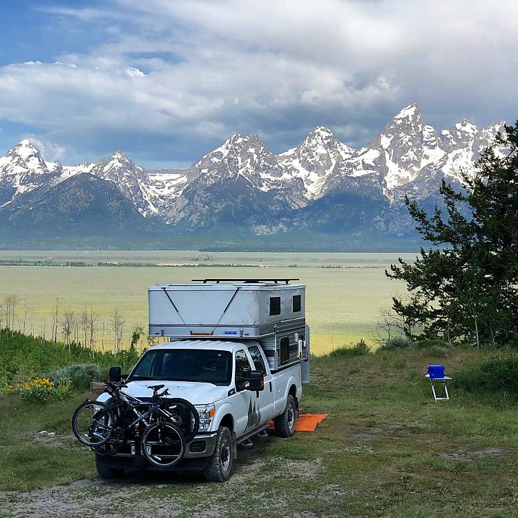 Grand Teton National Forest.