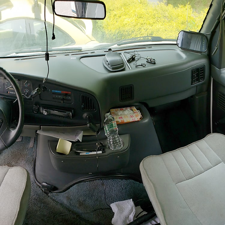 Driver and Passenger Cabin