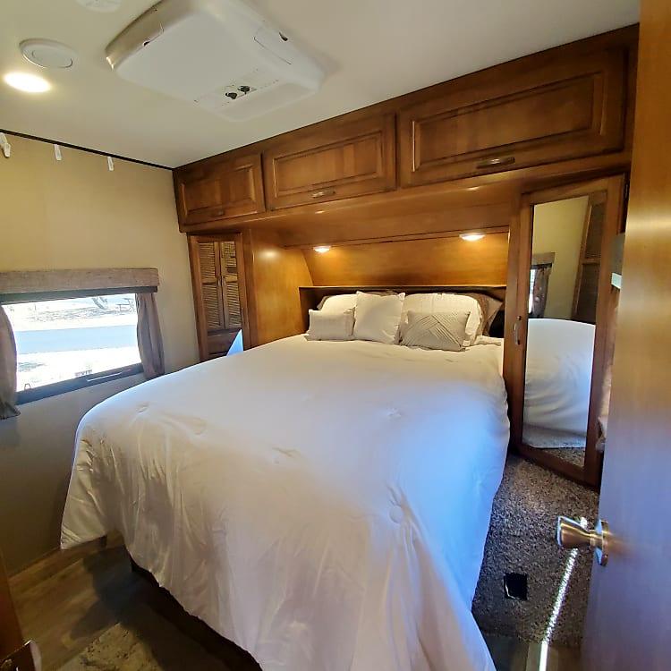 Master Bedroom with Serta iComfort Queen Bed