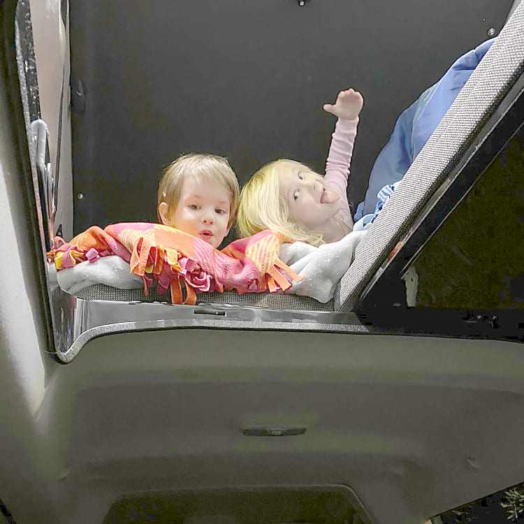 Kid approved :P. Van is great for families up to 5.