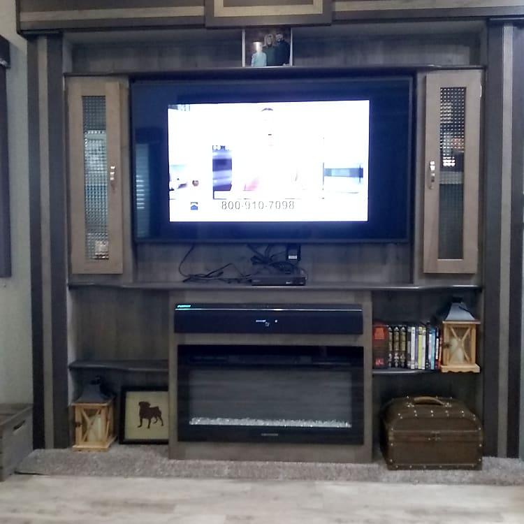 TV with surround sound