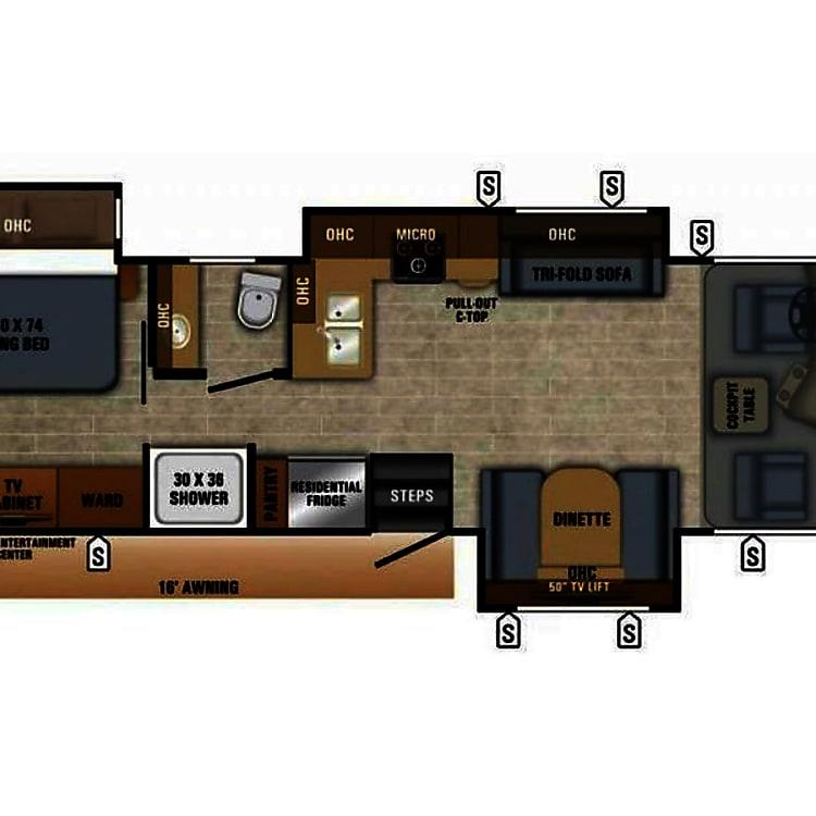 Heres the floorplan.   Sleeps 6