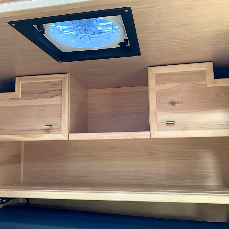 rear interior cabinets/shelves