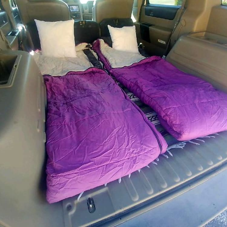 Spacious interior room. Buy new sleeping bags from us.