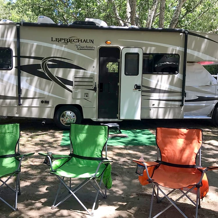 This picture was taken at Casini Ranch Campground on the Russian River-a great spot for families and very dog friendly.