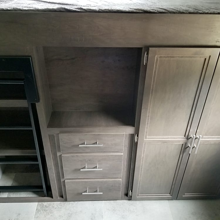 Cabinets in back bedroom