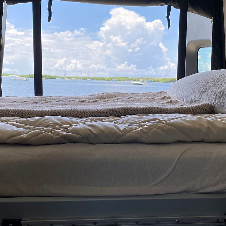 Bed Lowered to 3/4 position