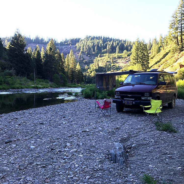 Camping by the River!