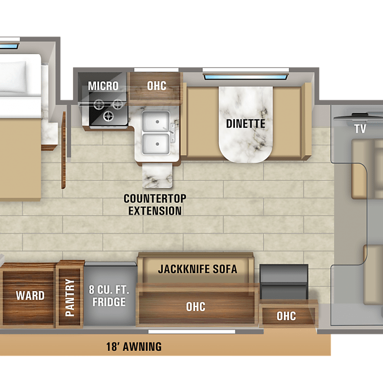 RV Lay out
