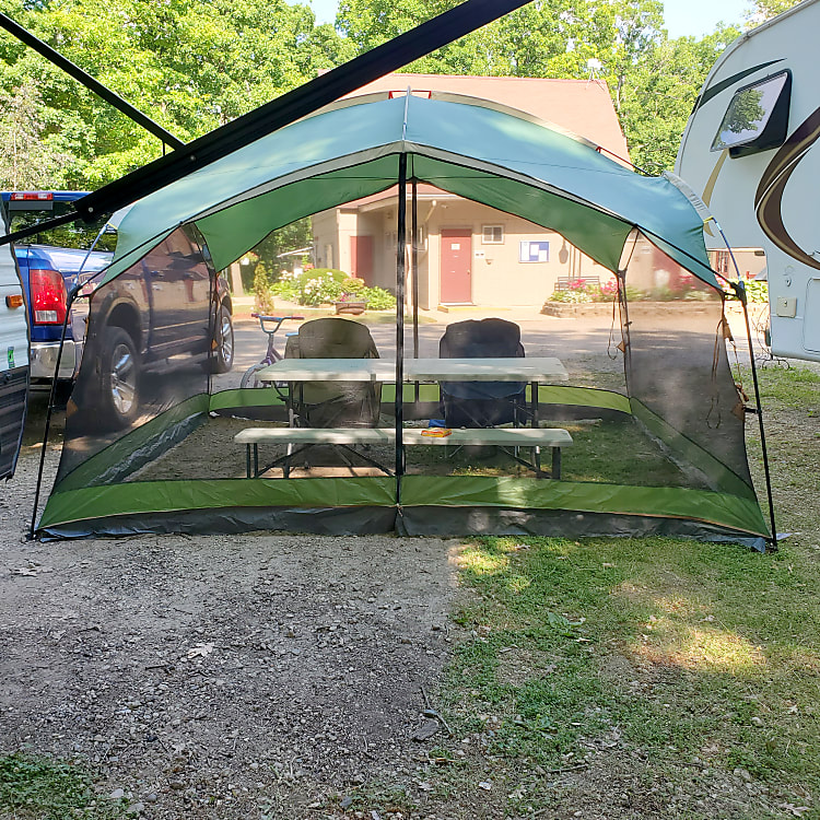 Bug netting tent included 12x10