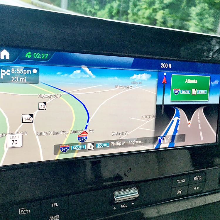 In-dash GPS