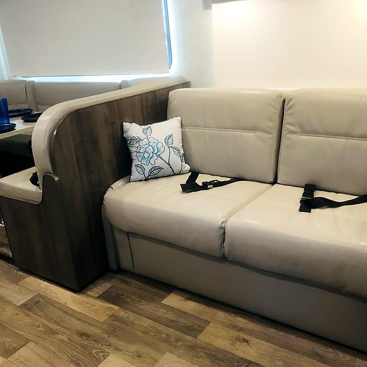 Luxury skinny queen true comfort sofa bed Sleeps 2