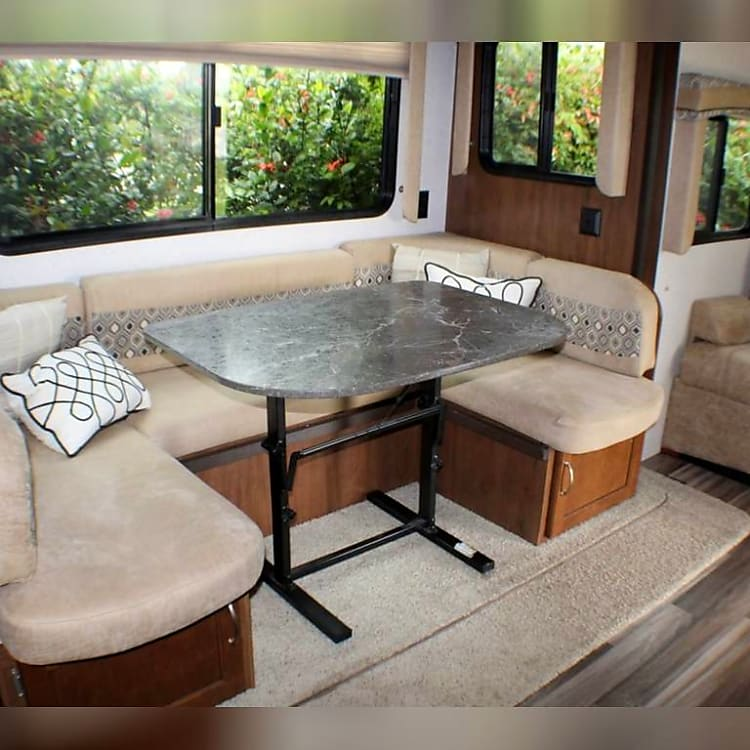 """84"""" Dinette /Sleeper - Fits 2 Adults"""
