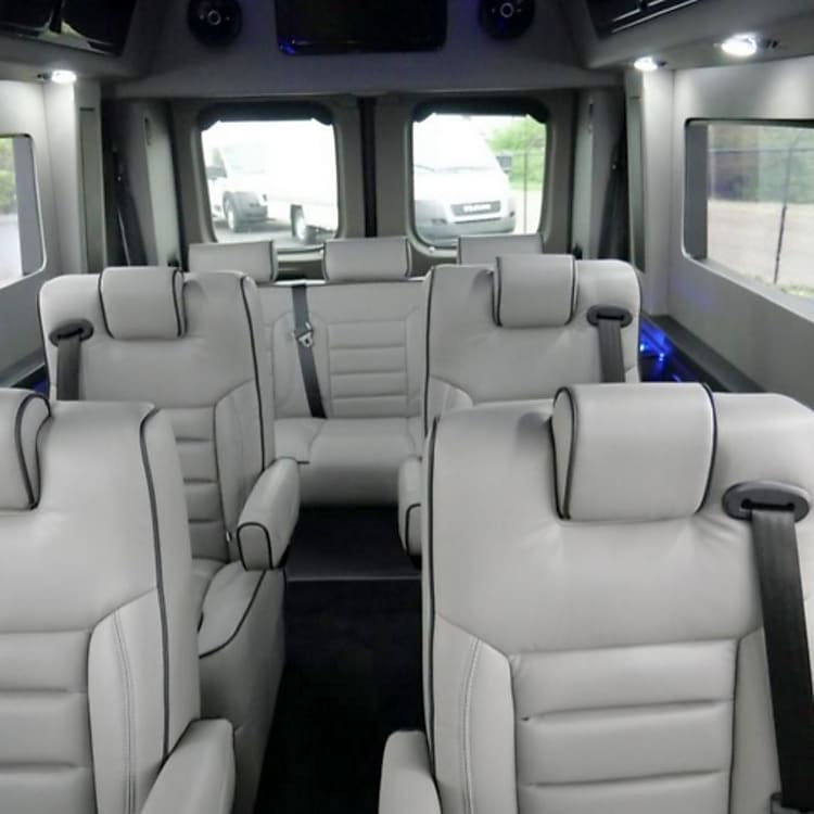 Four captain chairs swivel and recline