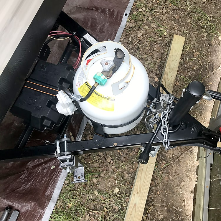 Propane with battery.