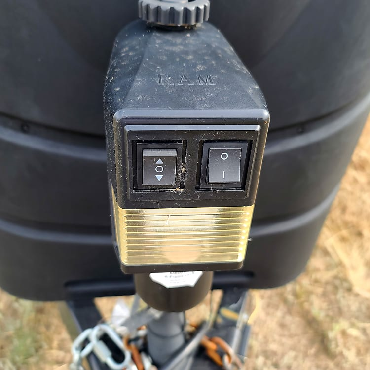 electric trailer hitch coupler