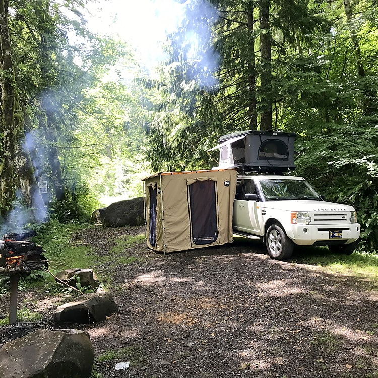 You can just park and camp ANYWHERE!